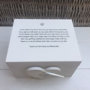 Shabby Personalised Chic Bridesmaid Maid Of Honour Wedding Keepsake Gift Box - 232211425265